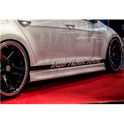 Minigonne laterali sottoporta Opel Adam 2012-