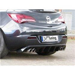 Sottoparaurti estrattore posteriore Opel Astra J GTC 2012-