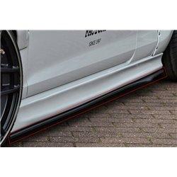 Minigonne laterali sottoporta Opel Astra J OPC 2012-