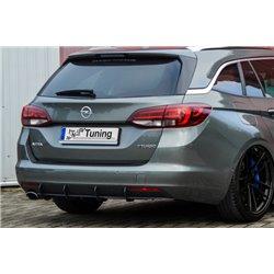 Sottoparaurti estrattore posteriore Opel Astra K 2015-2019 Sportstourer