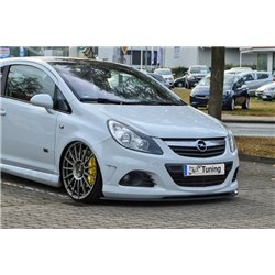 Sottoparaurti anteriore Opel Corsa D 2007-2014 OPC Line 1-2 + Nürburging Edition