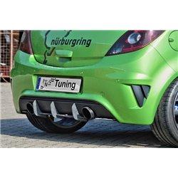 Sottoparaurti estrattore posteriore Opel Corsa D OPC Nürburgring Edition