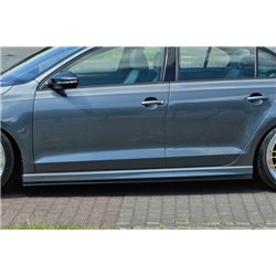 Minigonne laterali sottoporta Opel Meriva 2003-
