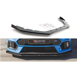 Lama sottoparaurti racing anteriore con flaps Ford Focus RS MK3 2015-2018