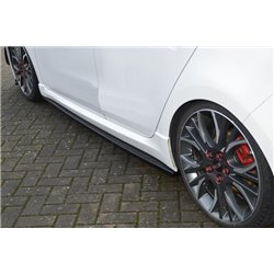 Minigonne laterali sottoporta Volkswagen Passat 3C B7 R-Line 2010-