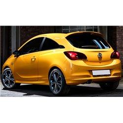 Spoiler sottoparaurti posteriore Opel Corsa E OPC Look