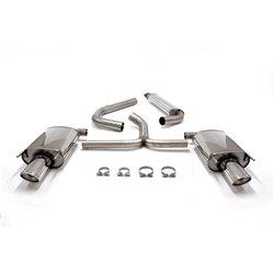 Sistema di scarico Duplex in acciaio Inox 1x90x120 Opel Insignia 4/5 porte 2WD