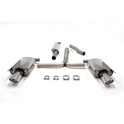 Sistema di scarico Duplex in acciaio Inox 1x90x120 Opel Insignia 4/5 porte 4WD