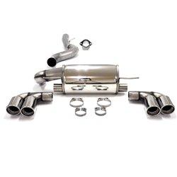 Sistema di scarico in acciaio Inox Duplex 2x90 BMW Serie 1 E82
