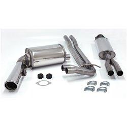 Sistema di scarico in acciaio Inox 1x100 per Volvo V70 II AWD S