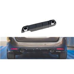 Sottoparaurti estrattore + imitazione scarico Peugeot 308 SW MK2 2017-