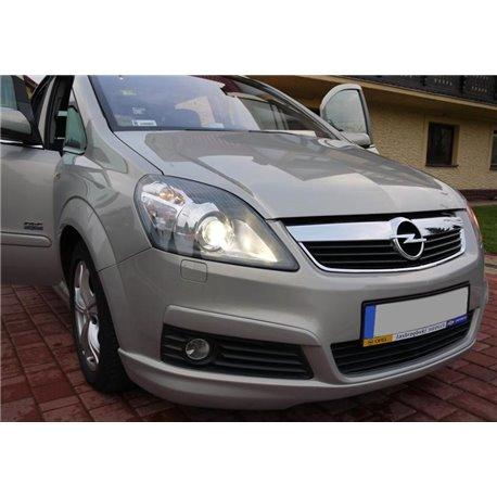 Sottoparaurti anteriore Opel Zafira B OPC Look