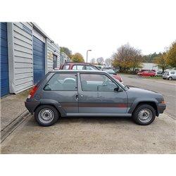 Minigonne laterali sottoporta + passaruota Renault 5 GT Turbo prima serie