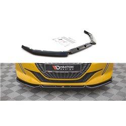 Sottoparaurti splitter anteriore V.1 Peugeot 208 Mk2 2019-