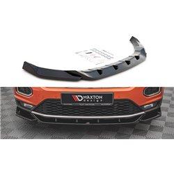 Sottoparaurti splitter anteriore V.1 Volkswagen T-Roc Mk1 2017-