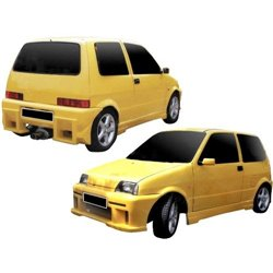 Kit estetico completo Fiat Cinquecento Storm II