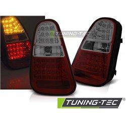 Coppia fari posteriori LED Mini R50 / R52 / R53 04-06 Rossi e Fume