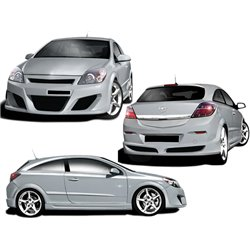 Kit estetico completo Opel Astra G GTC Invader