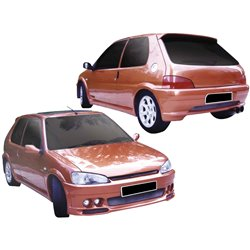 Kit estetico completo Peugeot 106 II Demon Wide