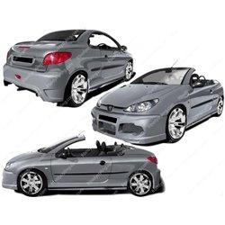 Kit estetico completo Peugeot 206 CC Exception