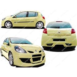 Kit estetico completo Renault Clio III Space