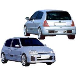 Kit estetico completo Renault Clio 1998- V6 Type