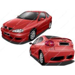 Kit estetico completo Renault Megane Coupe 2000 Zeus