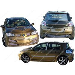 Kit estetico completo Renault Megane 2002 Speedline