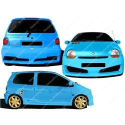 Kit estetico completo Renault Twingo I Neat