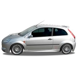 Minigonne laterali sottoporta Ford Fiesta 02 Thor