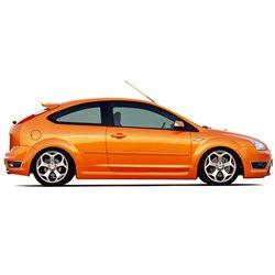 Minigonne laterali sottoporta Ford Focus 05 ST