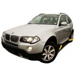 Pedane laterali sottoporta BMW X3 E83 04-10