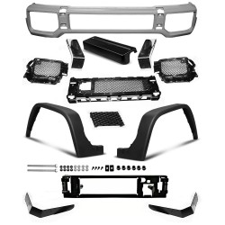 Kit parafanghi e paraurti anteriore Mercedes Classe G W463 AMG (PDC)