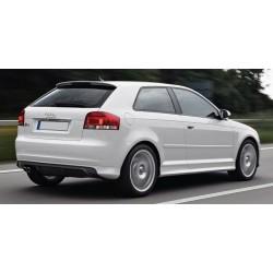 Audi A3 8P 3 Porte Spoiler alettone posteriore lunotto S3