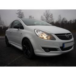 Sottoparaurti anteriore Opel Corsa D 06-11 OPC Look