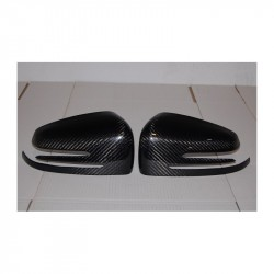 Calotte coprispecchi in carbonio Mercedes W204/W212/W218/W221/CLASSE A/B/C/E/GLK/CLS