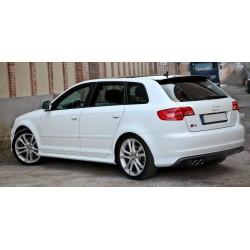 Spoiler alettone lunotto Audi A3 8P Sportback S3