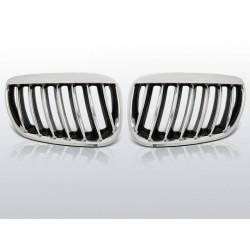 Griglia calandra anteriore BMW X5 E53 04-06 Nero lucido