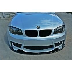 Sottoparaurti splitter anteriore BMW Serie 1 E81 / E87 07-11
