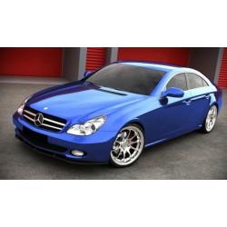 Sottoparaurti splitter anteriore Mercedes Classe C W219 W204 AMG Look