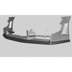 Sottoparaurti splitter anteriore Nissan Qashqai