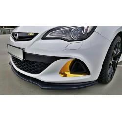 Sottoparaurti splitter anteriore Opel Astra J OPC / VXR 2009-