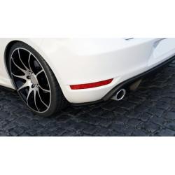 Sottoparaurti splitter posteriore Volkwagen Golf VI GTI 35TH 08-12