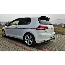Estensione spoiler Volkwagen Golf VII GTI 2012-