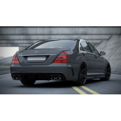 Paraurti posteriore Mercedes W221 05-13 W205 Look