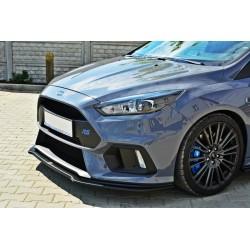 Sottoparaurti splitter anteriore Ford Focus MK3 RS 2015- V.3