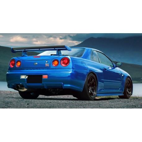 Allargamenti parafanghi posteriori Nissan Skyline GTT R34 Z-Type