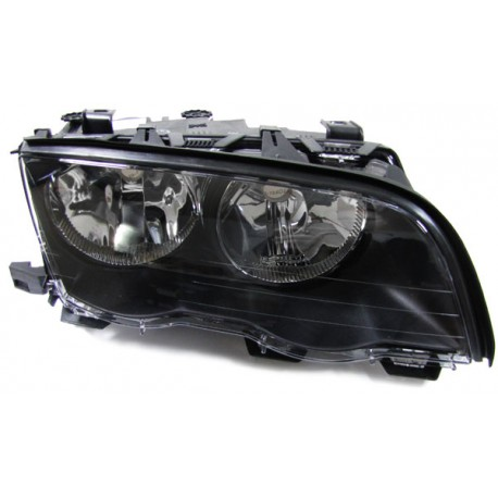 Faro anteriore destro nero BMW Serie 3 E46 98-01