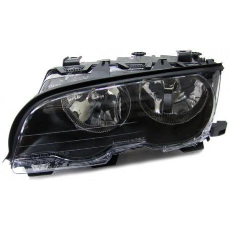 Faro anteriore destro nero BMW Serie 3 E46 Coupe Cabrio 99-03