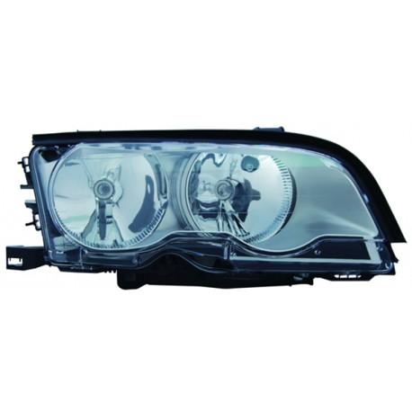 Faro anteriore destro titanio BMW Serie 3 E46 Coupe Cabrio 99-01